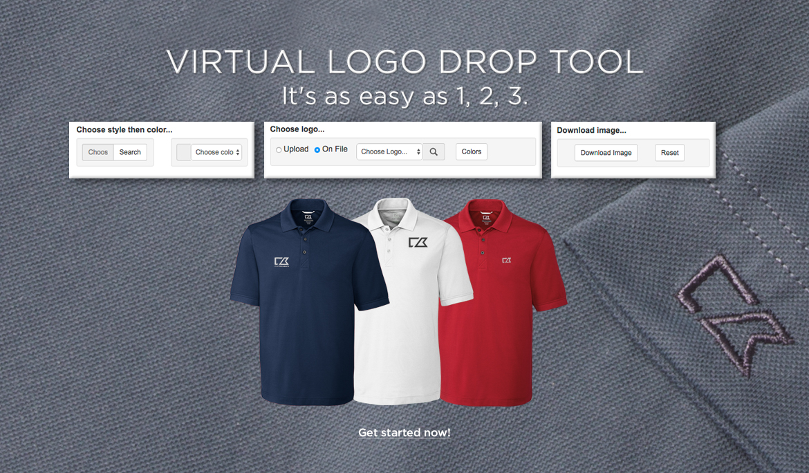 Virtual Logo Drop